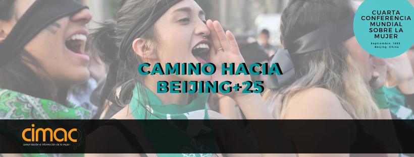 Camino hacia Beijing+25